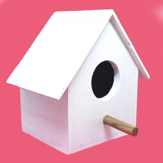 Buy handmade & attractive wooden birdhouse.