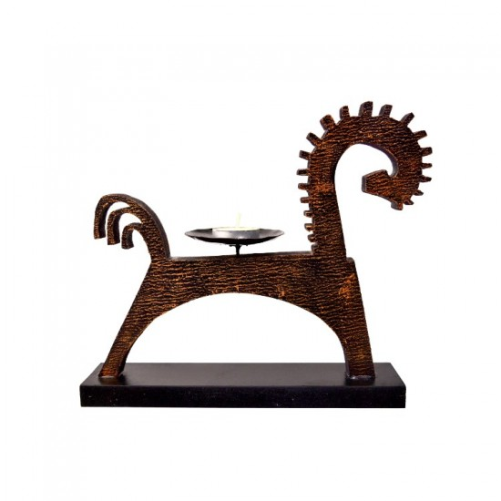 Horse Candle Stand