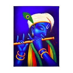 Lord Krishna Ceramic Painting