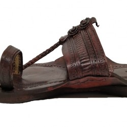 Buy thick sole leather kolhapuri chappal for men