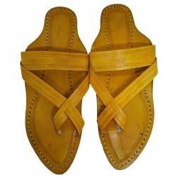 Buy Cross strapped designer kolhapuri chappal for men