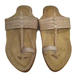 Buy pure leather kolhapuri chappal for men.