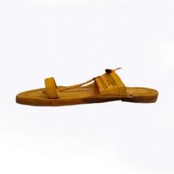 Buy stylish flat sole kolhapuri chappal for men.