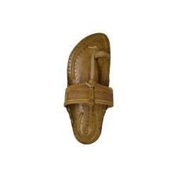 Buy original leather sturdy kolhapuri chappal for men.