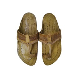 Buy designer sober Kolhapuri Chappal for Men