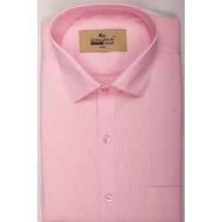 Buy pink colored plain khadi shirt with full & half sleeves