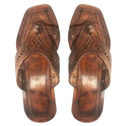 Buy Original leather Kolhapuri Ladies Chappal.