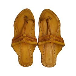 Buy flat sole traditional kolhapuri chappal for women.