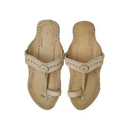Buy handcrafted designer kolhapuri chappal for women
