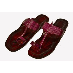 Buy pure leather everyday use kolhapuri chappal for women