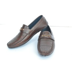 Buy brown casual loafers for men.
