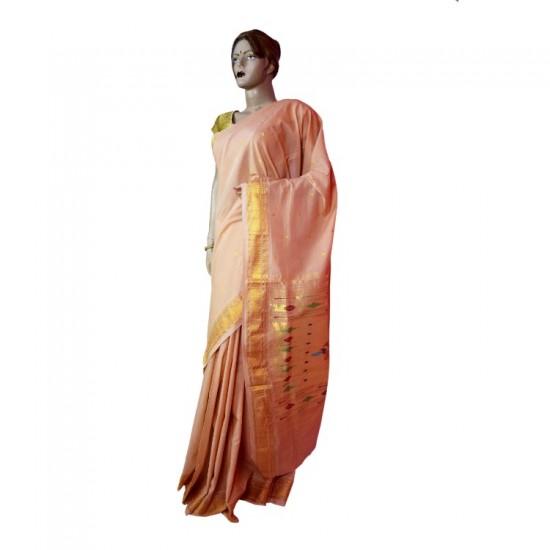 Buy original Cotton Paithani Saree