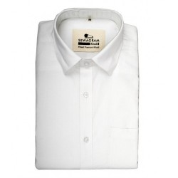 Buy premium Khadi White shirt for men.