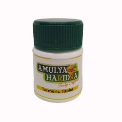 Buy Amulya Haridra Organic Curcumin Tablets
