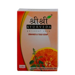 Buy sri sri tattva orange & tulsi soap.