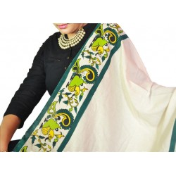Buy hand painted Dupatta for women.